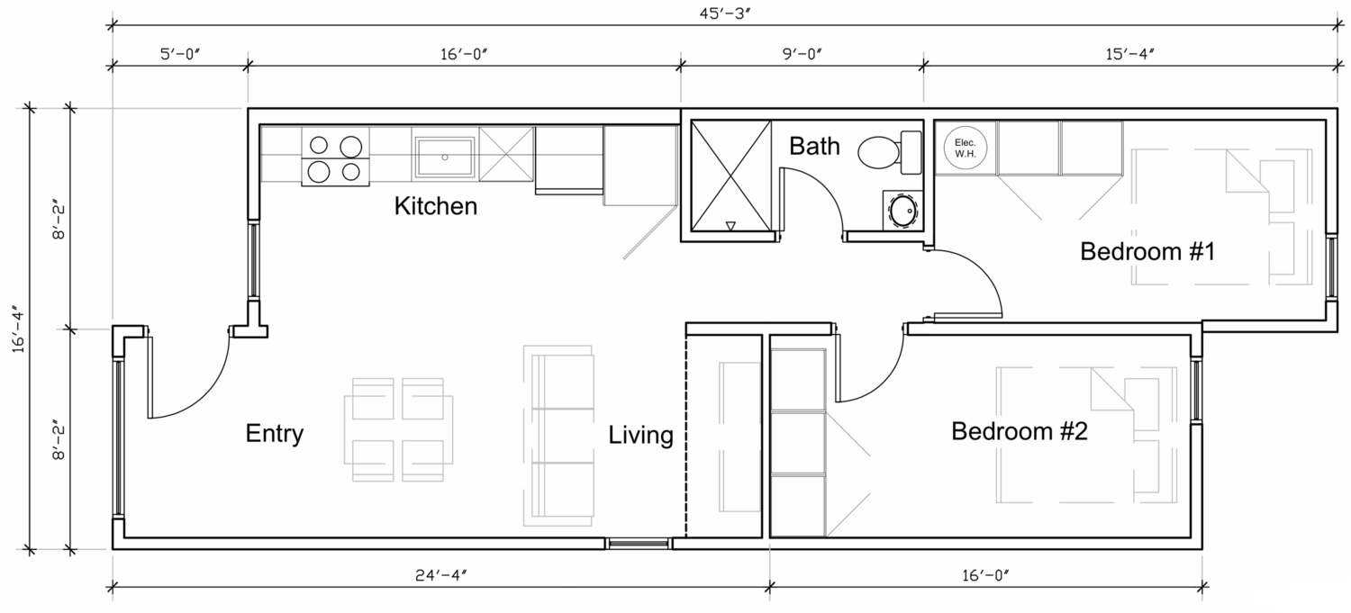 Container Home Layout Modular and Prefabricated Shipping