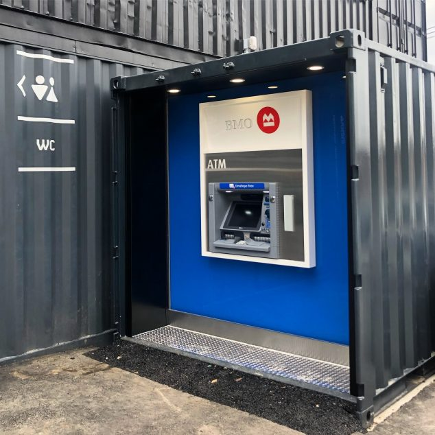 Shipping Container ATM