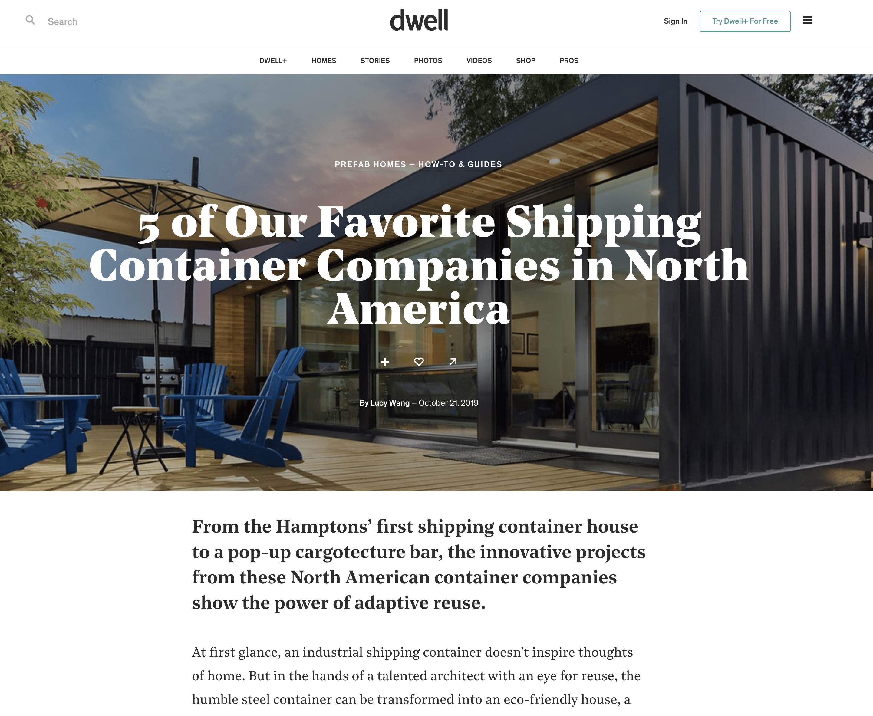 Best Shipping Container Companies