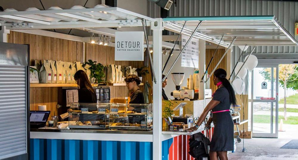 Container Cafe Los Angeles Miami Atlanta Seattle